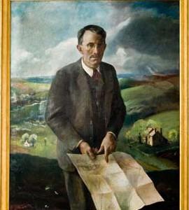 Portrait of Chris Sanderson, by Andrew Wyeth (1937)