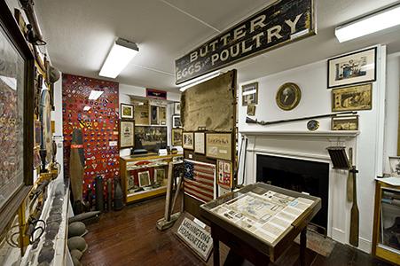 The Battlefield Room, Christian S. Sanderson Museum