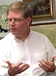 Bob Duggan lectures at Sanderson Museum