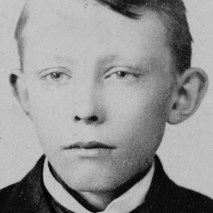 Chris, about age 10  (c. 1892)